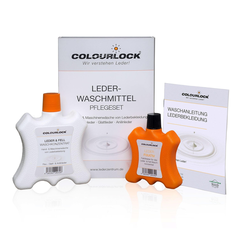 COLOURLOCK Lederwaschmittel Pflegeset