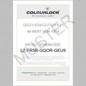 COLOURLOCK® Geschenkgutschein, 100 Euro