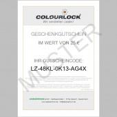 COLOURLOCK® Geschenkgutschein, 25 Euro