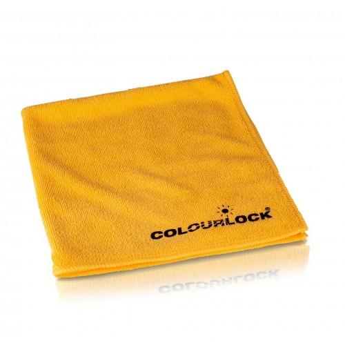 COLOURLOCK Mikrofasertuch 40 x 40 cm, gelb